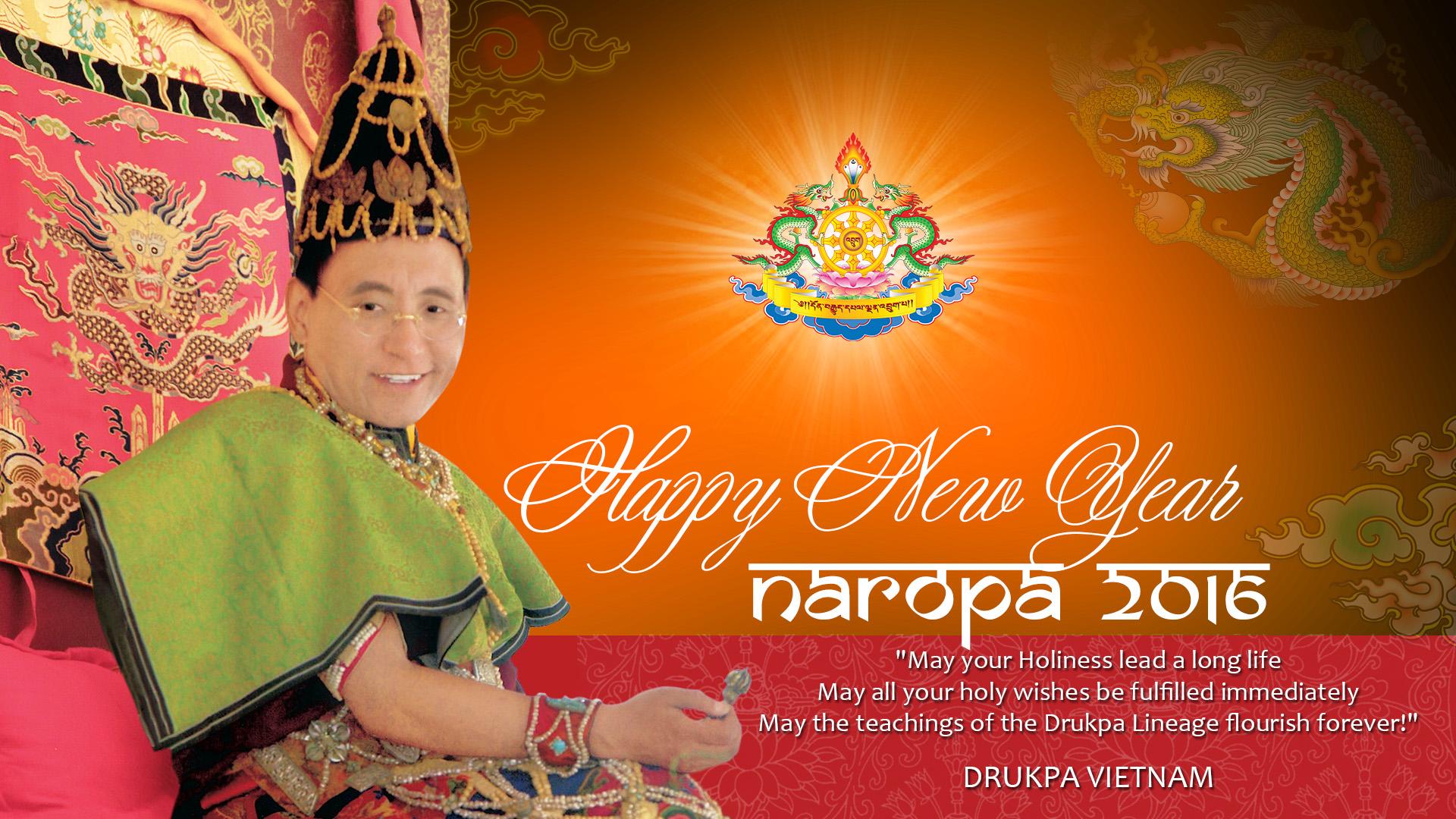 HAPPY NEW YEAR - NAROPA 2016